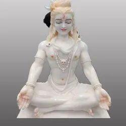 Lord Shiv Shankar Marble Statue