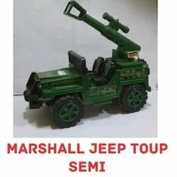 Green Top Semi Marshall Jeep Toy, For Kids