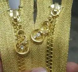 MMR Zippers Golden Plastic Zipper