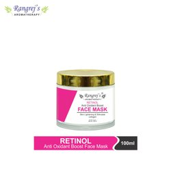 Rangrej's Aromatherapy Retinol Face Mask For Glowing & Brightening Skin 100ml