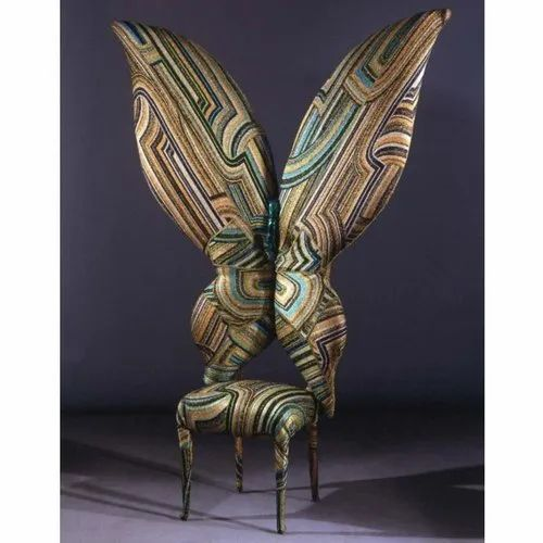 Modern Wooden Winged Wedding Chair Rs 13000 Piece J H Sons Id 22857489291