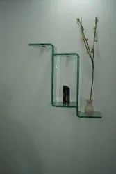 Transparent Bend Glass, For Home, Shape: Flat