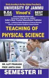 Jammu B.Ed. 2nd Sem. (e) Teaching Of Physical Science (e) Vinod Publications