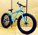Audi Dolphin Blue Fat Tyre Cycle
