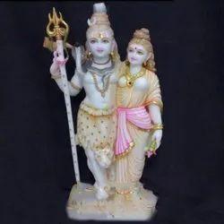 Lord Shiva Parvati Stylish Statue