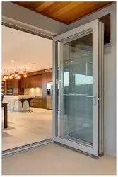 Hinged Plain Transparent Glass Door