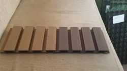 Fluted WPC Wall Panels Cladding