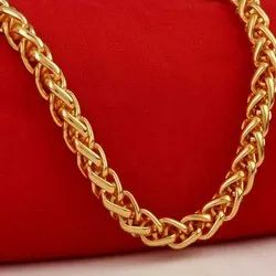 Alloy Gold Plated Chains, Size: 51.36 Kb