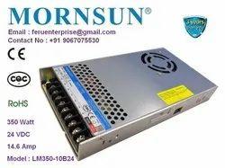 24VDC 14.6A Mornsun SMPS Power Supply