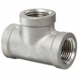 Stainless Steel Tee Pipe Fittings