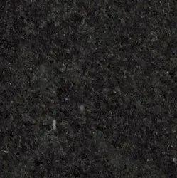 Dark Black Granite Slab