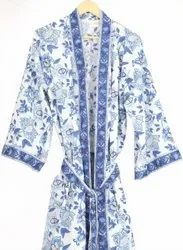 Ladies Printed Kimono Dress