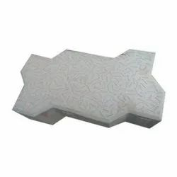 Cement Outdoor Zig Zag Paver Block, Dimensions: 9 X 3 X 3 Inches, Thickness: 60 Mm