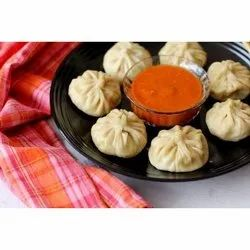 Frozen Yellow Corn Momos, 100 Pieces, Packaging Type: Packet
