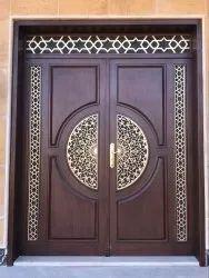Solid Wooden CNC Door