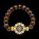 SSGJ Natural Stones Healing Bracelet Tiger Eye Bracelet shree shyam gems and jewellery