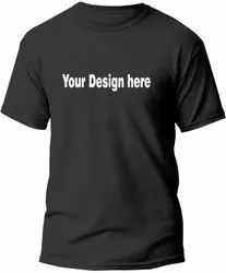 Round Neck Promotional T Shirt Printing Service