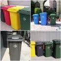 Colored Garbage Bin