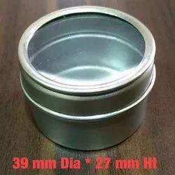 Round Tin box