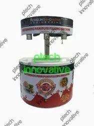 3 Nozzle Table Top Premium Model Automatic Panipuri Filling Machine