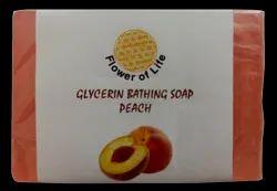 Peach Glycerin Bathing Soap