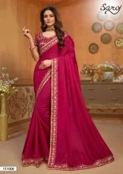 Designer Festive Wear Silk Saree