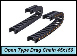 Open Type Drag Chain 45x150