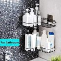 Wall Mount Self-Adhesive Metal Bathroom Soap Holder