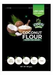 Coco mantra Indian Coconut Flour, 250g, Packaging Type: Stand Up Zipper Pouch