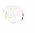 Gold Plated Multi Gemstone Stylish Bracelet
