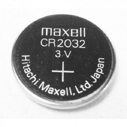 Maxell CR 2032 Batteries With Tag