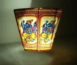ReyaTrade Handmade Ganpati Decorative Lamp, For Decoration