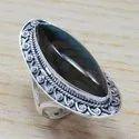 Fashion Labradorite Gemstone 925 Sterling Silver Unique Ring