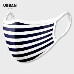 Cotton Face Mask Stripes Design Urban Mask
