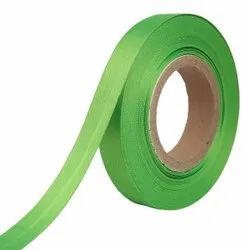 Double Satin NR - Parrot Green Ribbons 25mm/1''inch 20mtr Length