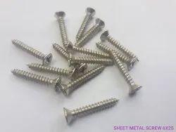 6x25mm金属螺丝,鼓形抛光