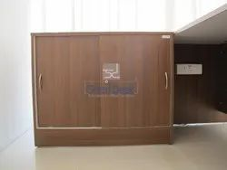 ST 03 Wooden Sliding Storage Cabinets