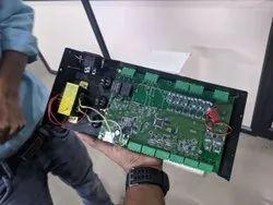 Wireless Motor Starter Design with development boards