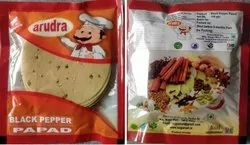 Masala Papad Black Pepper Flavour