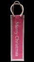 Printed Jute Wine Bag