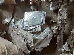 Metallic Silver Aluminium Plate Scrap, For Industrial