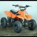 Orange 80cc Junior ATV