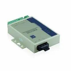 1 RS-232/485/422 Serial-to-Fiber Modem