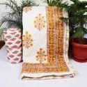Hand Block Print Jaipuri Quilt
