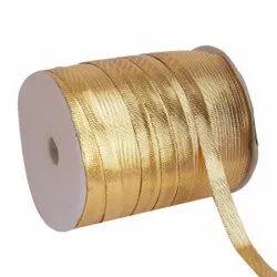 Lurex- Golden Yellow Ribbons 10mm Ribbon 50mtr Length