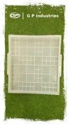 Square Plastic Tile Mould
