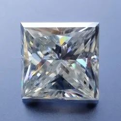 Colorless Princess Cut Loose Moissanite For Jewelry