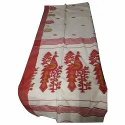 5.5 Meter Festive Wear Handloom Saree, With Blouse Piece