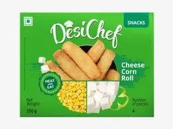 DesiChef Cheese Corn Roll
