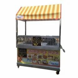 Rectangular SS Chinese Display Counter, For Commercial